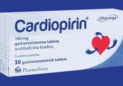 Akcija Cardiopirina 208,98 rsd